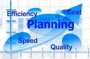 Voraussetzung für eine Prozessoptimeriung ist eine sinnvolle Planung!
